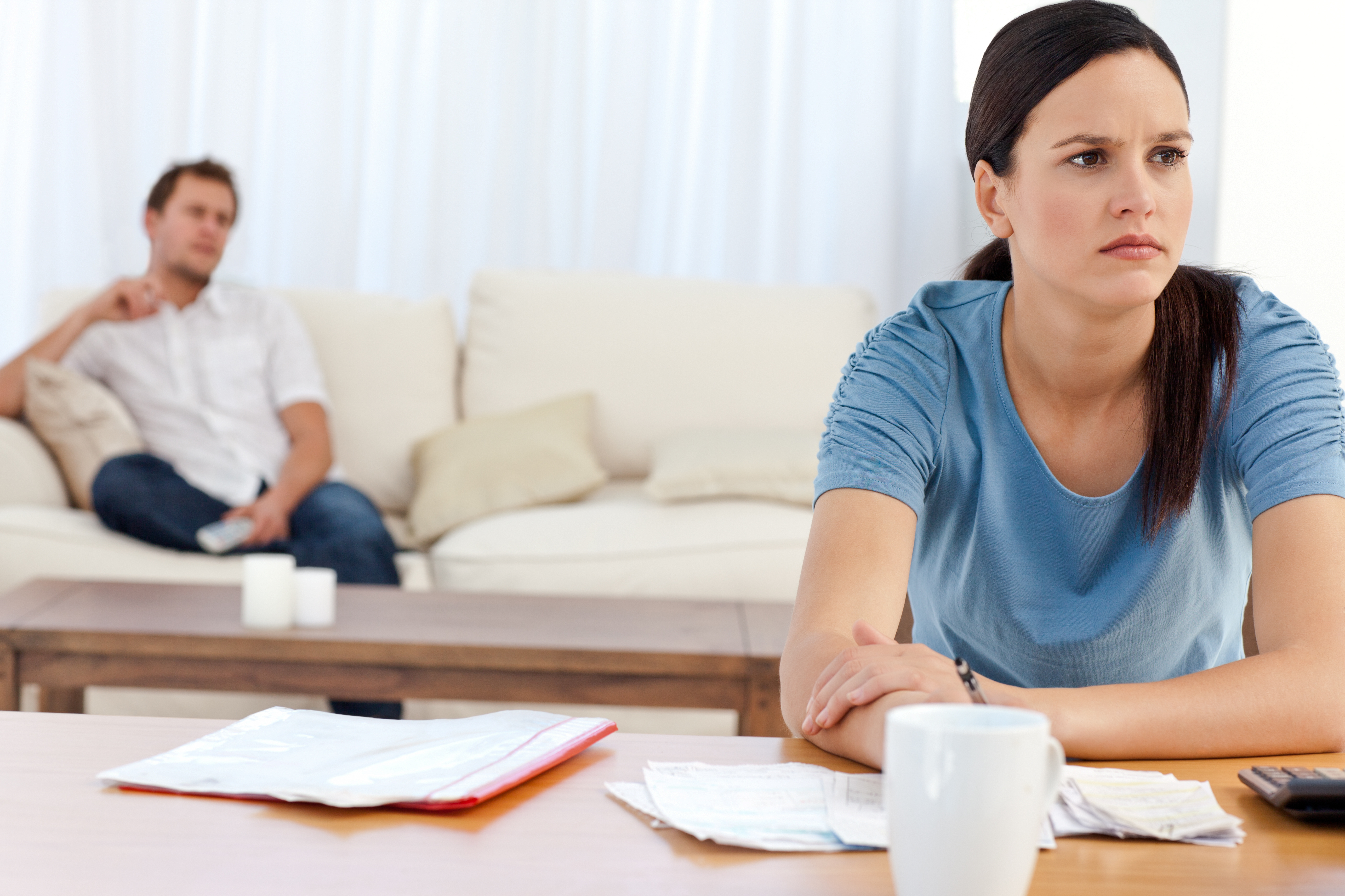 How Are Debts Divided in a Divorce?
